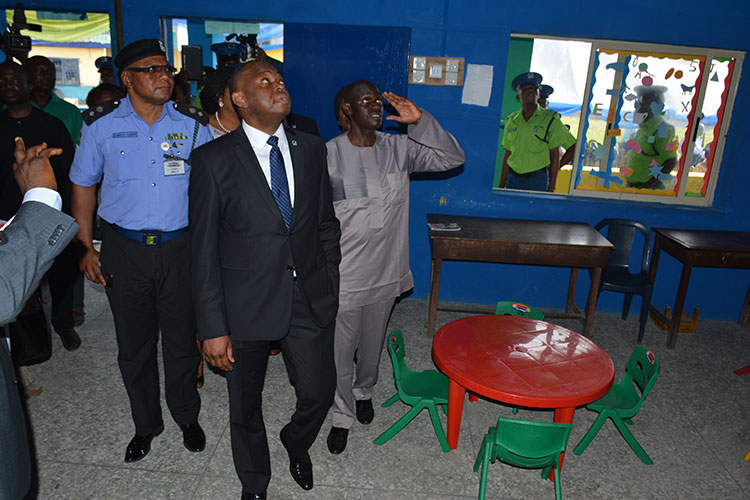 Fidelity Bank supports educational development, renovates Obalende Police Children School