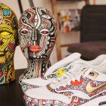 NIKE HIRES NIGERIAN ARTIST LAOLU SENBANJO TO CREATE AIR MAX INSPIRED ART IN NEW YORK