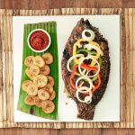 Grilled Fish with Plantain Chips