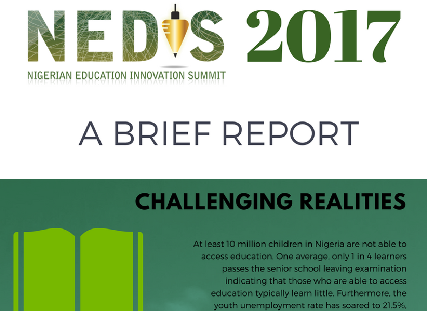 NIGERIAN EDUCATION INNOVATION SUMMIT