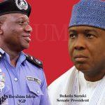 EXCLUSIVE: IGP Idris gets Buhari's nod to arrest Saraki over murders in Kwara