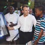 My Legs Shook As I Drew The Portrait Of French President – Kareem