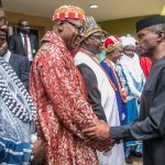VP Osinbajo tasks monarchs on conflict resolution