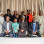 President Buhari interacts with Nigerian Embassy Staff in Netherlands