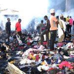 Fire guts main market in Jos