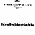 Stakeholders to validate National Health Promotion Policy