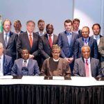 President Muhammadu Buhari on Monday in The Hague, Netherlands, met with over 20 chief executive officers of Dutch companies