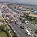 Before the closure of Third Mainland Bridge
