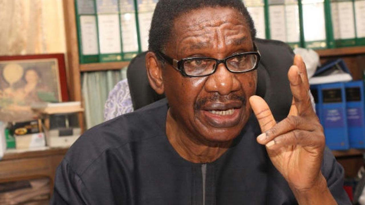 Prof Itse Sagay, has accused former President Olusegun Obasanjo of having a hand in the crises rocking the ruling All Progressives Congress, APC.