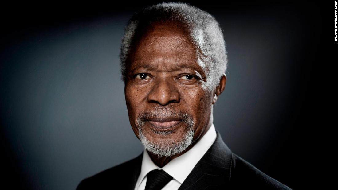 World Leaders mourn Kofi Annan