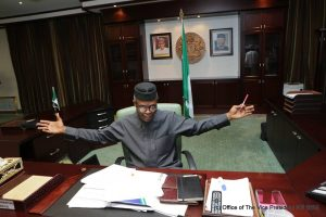 Osinbajo, acting DSS chief meet in Aso Rock