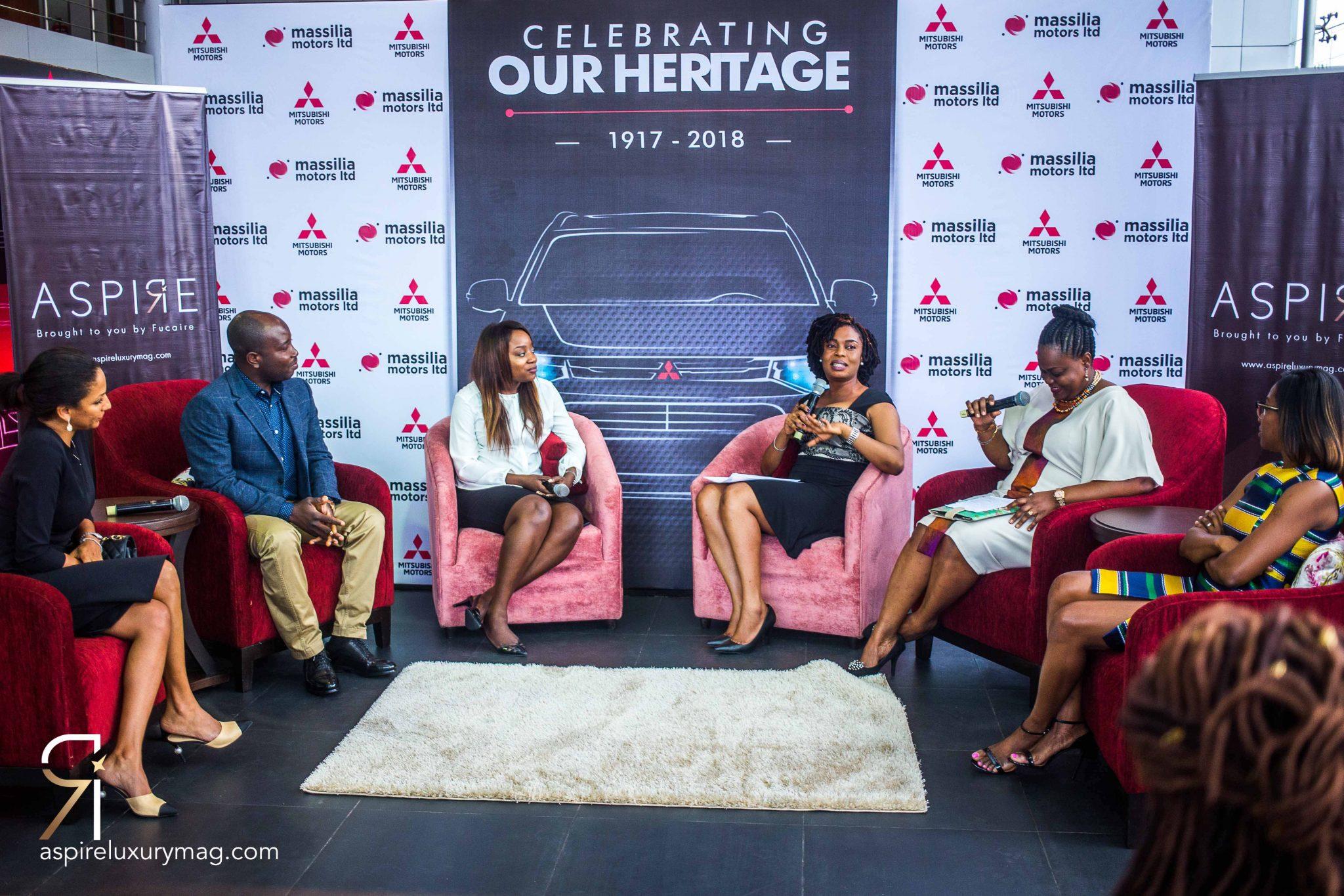 Oando Plc celebrates Mitsubishi Motors Anniversary and Heritage Week