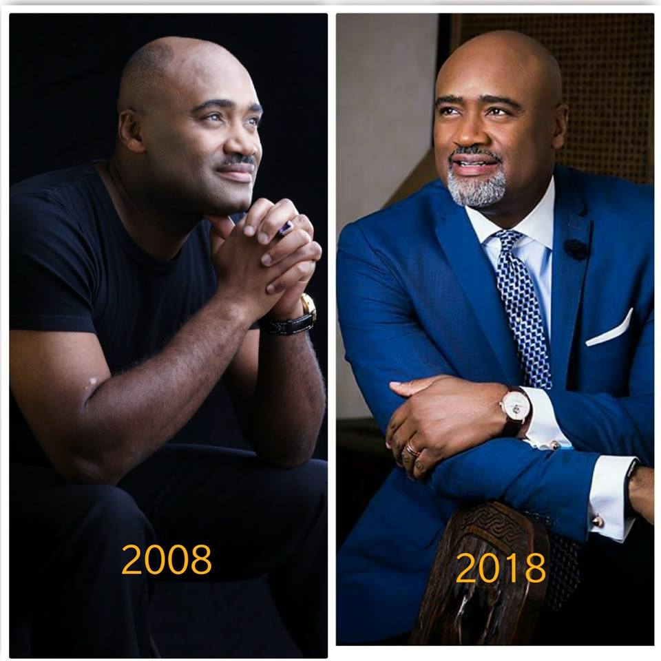Paul Adefarasin and Ifeanyi's #10YearChallenge photos are flawless - 1