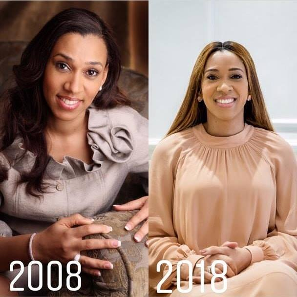 Paul Adefarasin and Ifeanyi's #10YearChallenge photos are flawless - 2