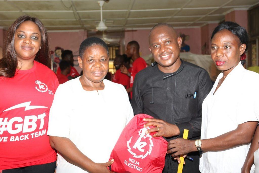 Ikeja Electric celebrates Valentine's Day with kids at Igbobi Orthopaedic Hospital