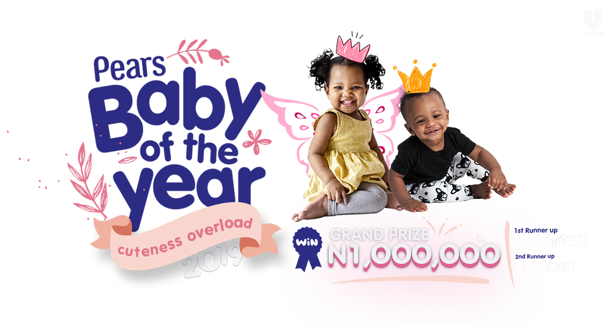 Win N1 Million in the Pears 'Baby of the Year Competition' 2019